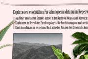 Explosionen erschüttern Axolotl-Forschungseinrichtung im Regenwald